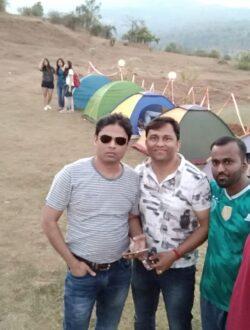 Pawna lake camping group photo