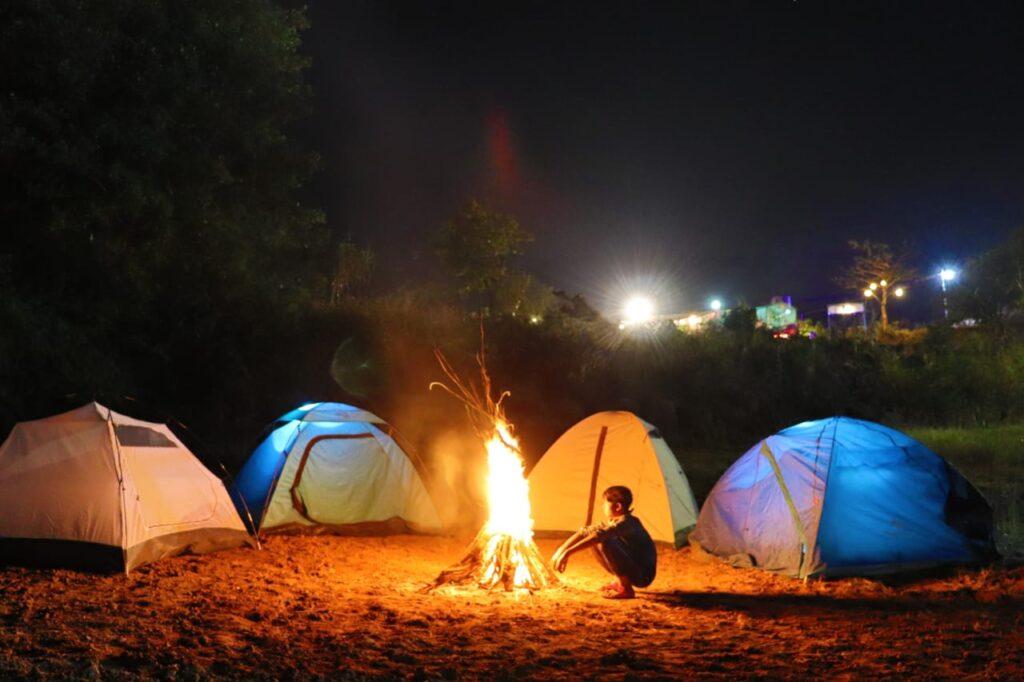 Pawna lake camping Camp C thrillcampers