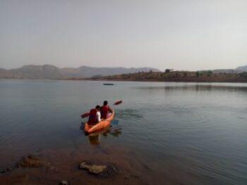 pawna lake camping kayaking