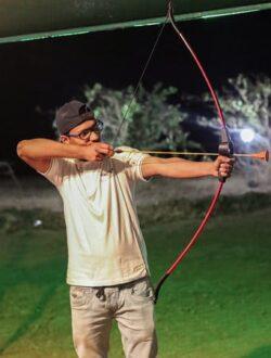 pawna lake camping archery activity