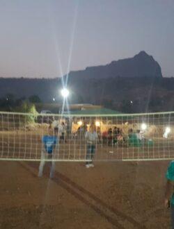 pawna lake camping volleyball activity