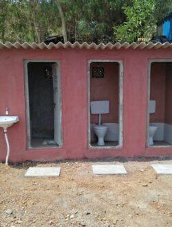Pawna lake camping restrooms