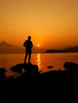 Pawna lake camping sunset photo shoot
