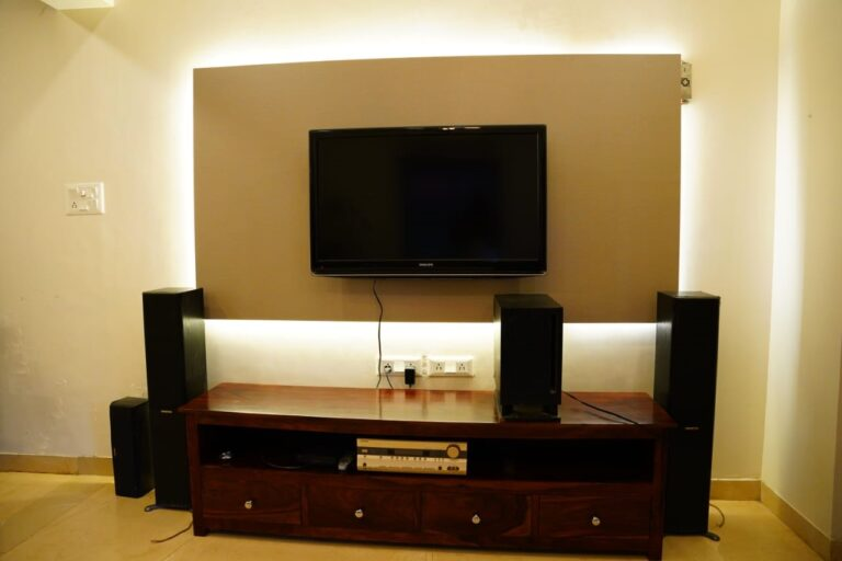 Tv and home theatre for entertainment