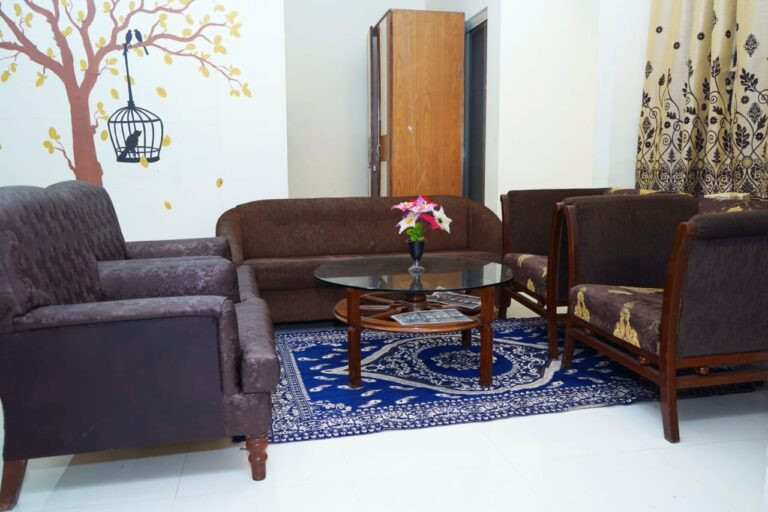 Living room with good looking furniture